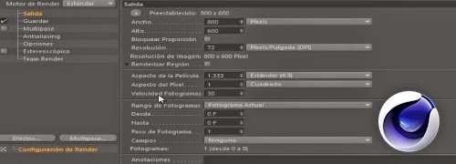 Como crear un render de video en Cinema 4D
