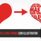 Como ajustar un texto a una forma con Illustrator