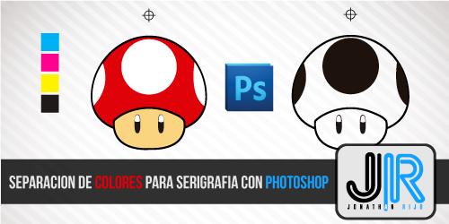 Separación de Colores para Serigrafía con Photoshop - Tutorial