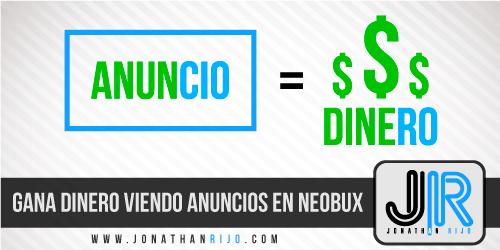 Gana dinero viendo anuncios con neobux - Jonathan Rijo Blog
