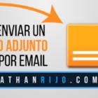 Como enviar un archivo adjunto grande por email