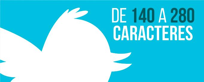 De 140 a 280 Twitter aumenta el limite de caracteres - Jonathan Rijo Blog