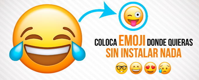 Coloca emoji donde quieras sin instalar nada - Jonathan Rijo Blog