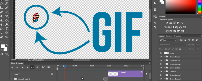 Como crear un gif animado solo con Photoshop CC - Jonathan Rijo Blog