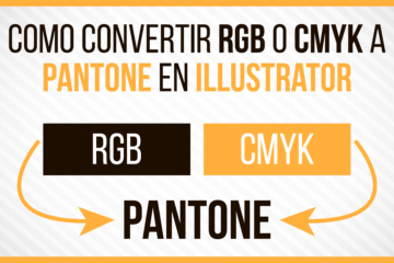 Como convertir RGB o CMYK a PANTONE en Adobe ILLUSTRATOR - Tutorial - Jonathanrijo.com