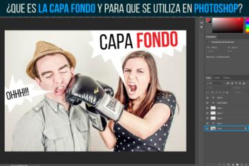 Que es la CAPA FONDO de PHOTOSHOP y para que se utiliza - Jonathanrijo.com
