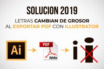 Solución - Letras cambian de grosor al exportar PDF con Illustrator - Jonathanrijo.com
