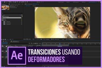 Como crear transiciones de video en After Effects con Deformadores - Tutorial - Portada - Jonathan Rijo Blog