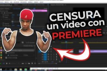 CENSURA un vídeo con Adobe PREMIERE (manual y AUTOMATICA) - Jonathanrijo.com - Jonathan Rijo Blog