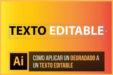 Como aplicar degradado a un texto editable en Illustrator - Jonathan Rijo Blog